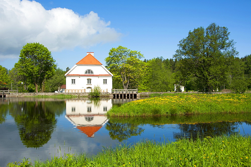 Vihula manor, Vihula, Lahemaa national park, Estonia, Baltic states, Europe