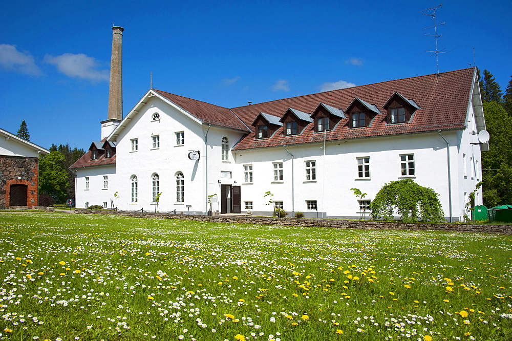 Palmse manor, Palmse, National park Lahemaa, Estonia, Baltic states, Europe / distillery, hotel