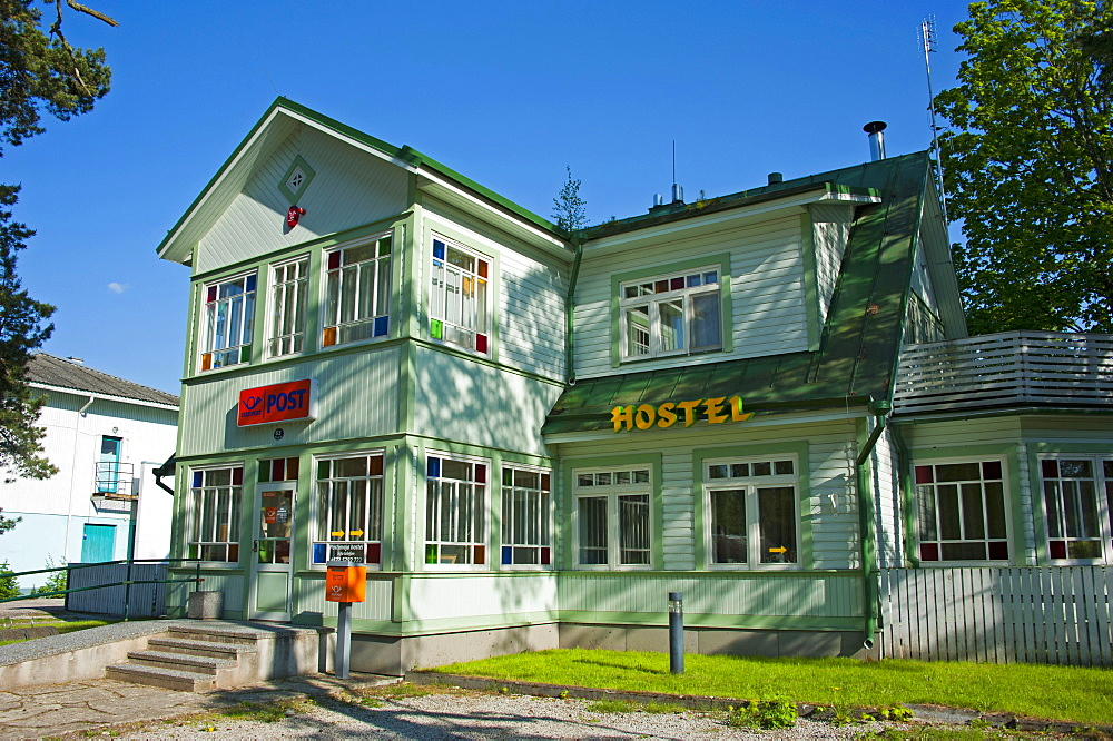 Post office, Vosu, National park Lahemaa, Estonia, Baltic states, Europe