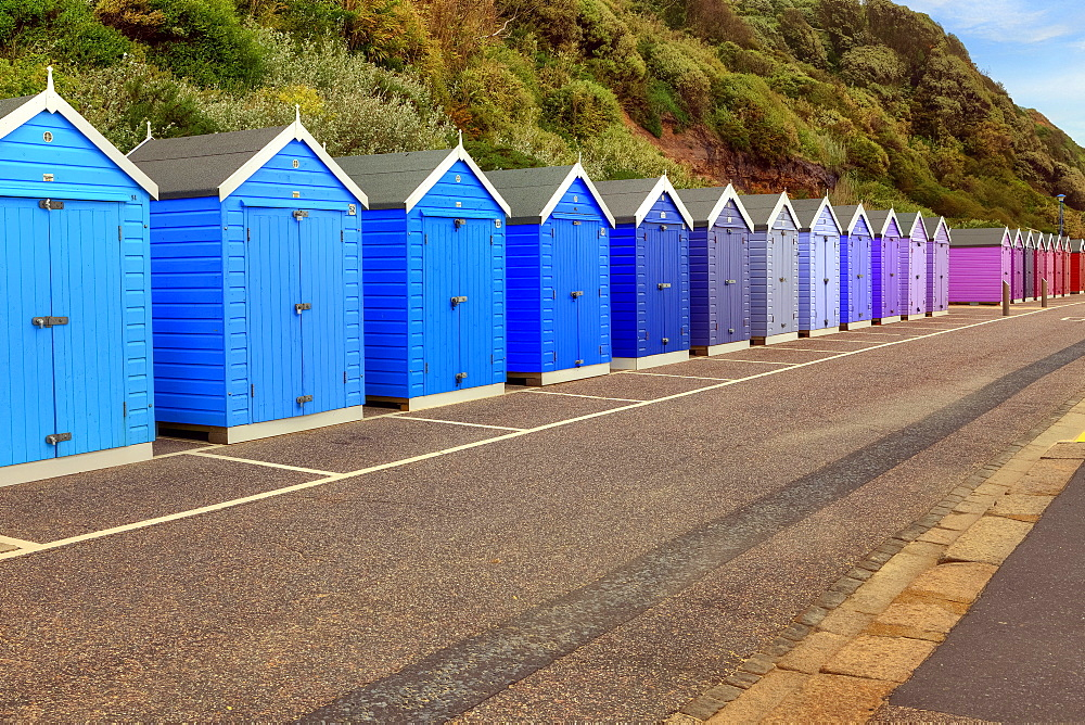 beach huts, Bournemouth, Dorset, United Kingdom