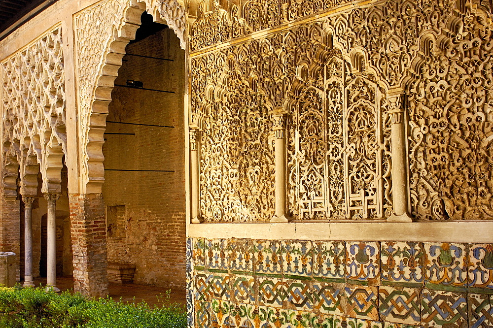 Reales Alcazares, Seville, Andalusia, Spain