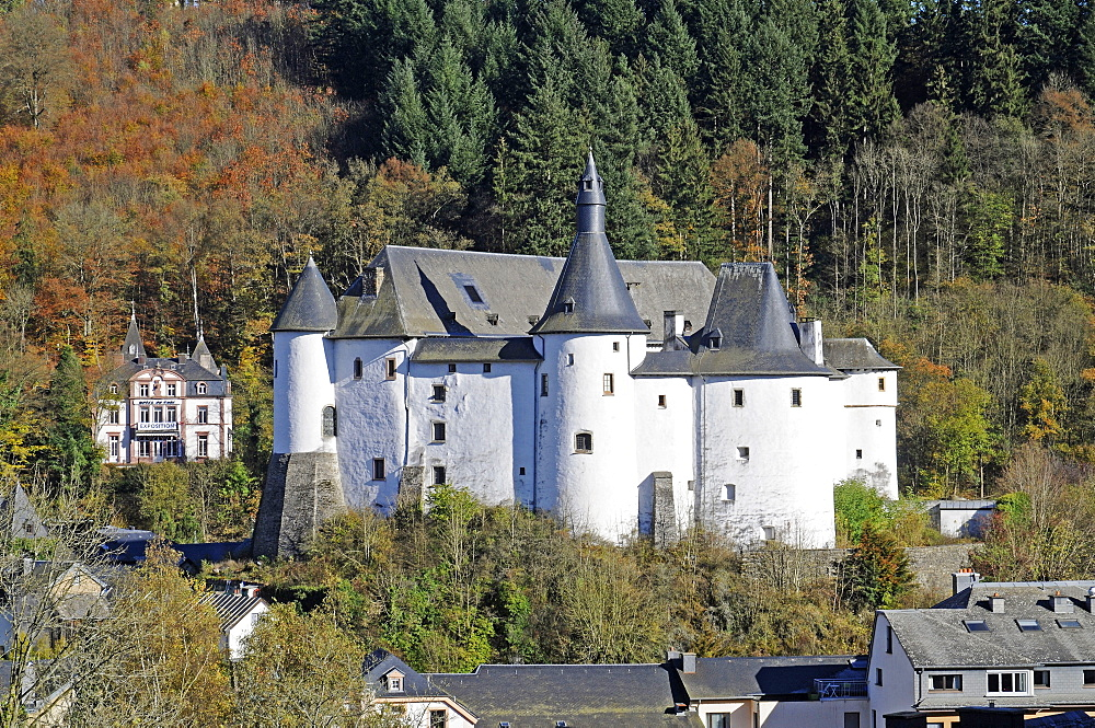 War Museum, chateau, castle, palace, Clervaux, Luxembourg