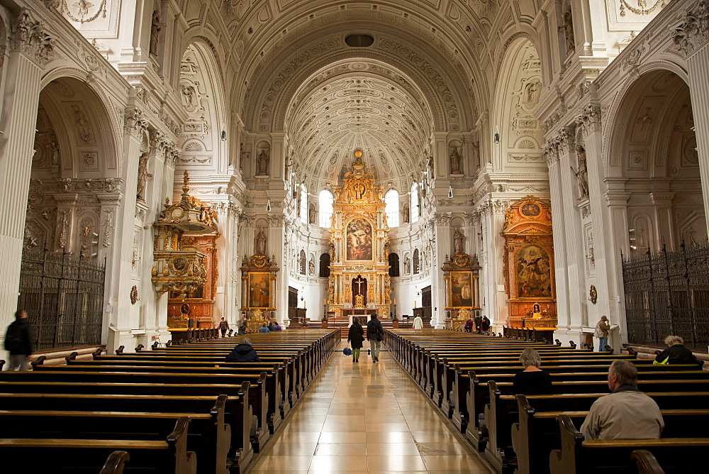 catholic Jesuit church St. Michael, Munich, Bavaria, Germany