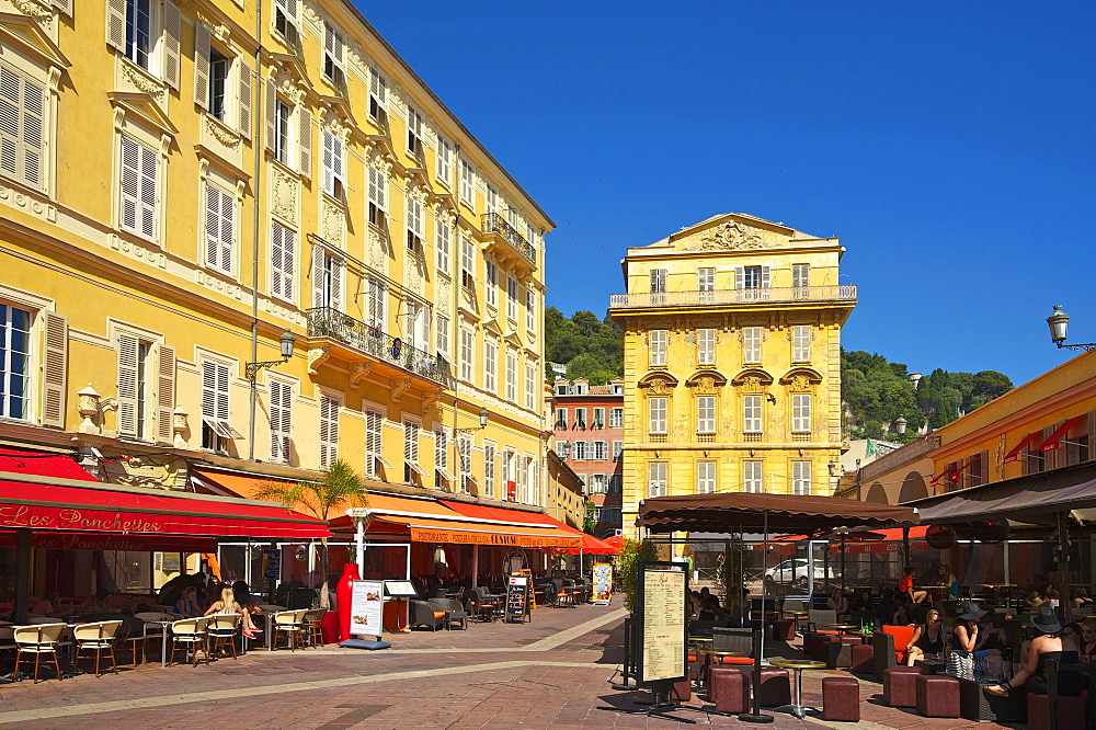 Place Charles, Old Town, Nice, Cote d?Azur, France