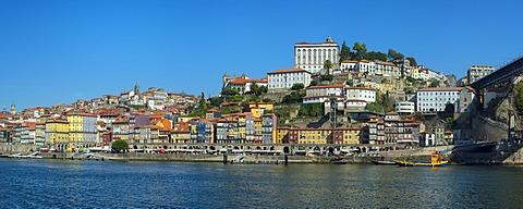 Ribeira district and the Former Episcopal Palace, Oporto, Portugal