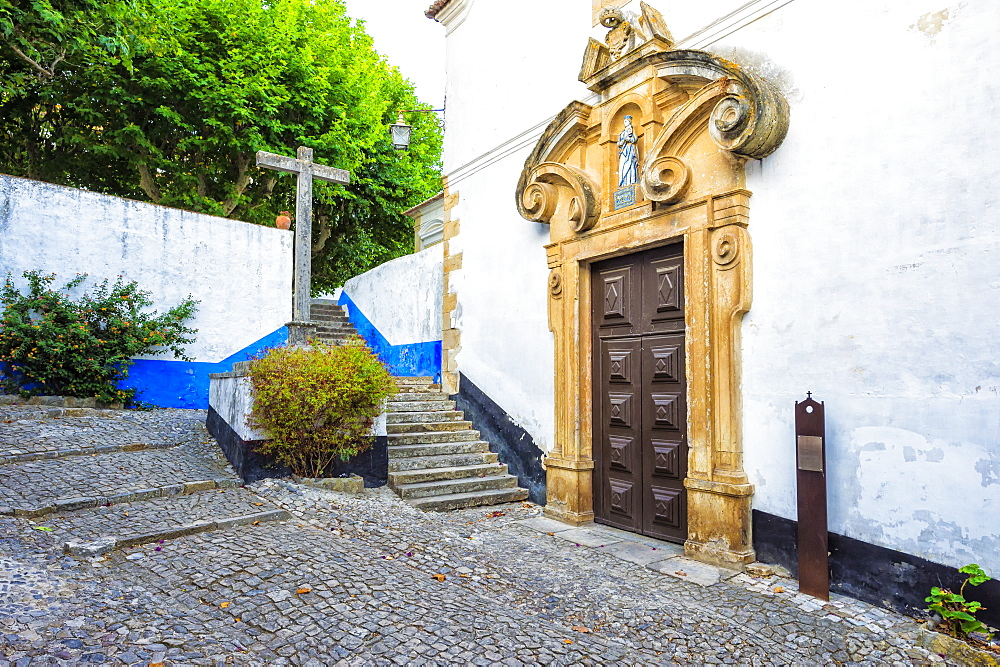 Almshouse Church or Chapel of the Holy Spirit, Obidos, Estremadura and Ribatejo, Portugal