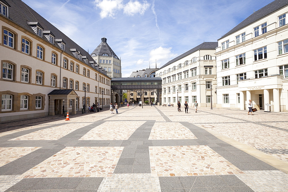 Courthouses, Cite Judiciaire, Luxembourg