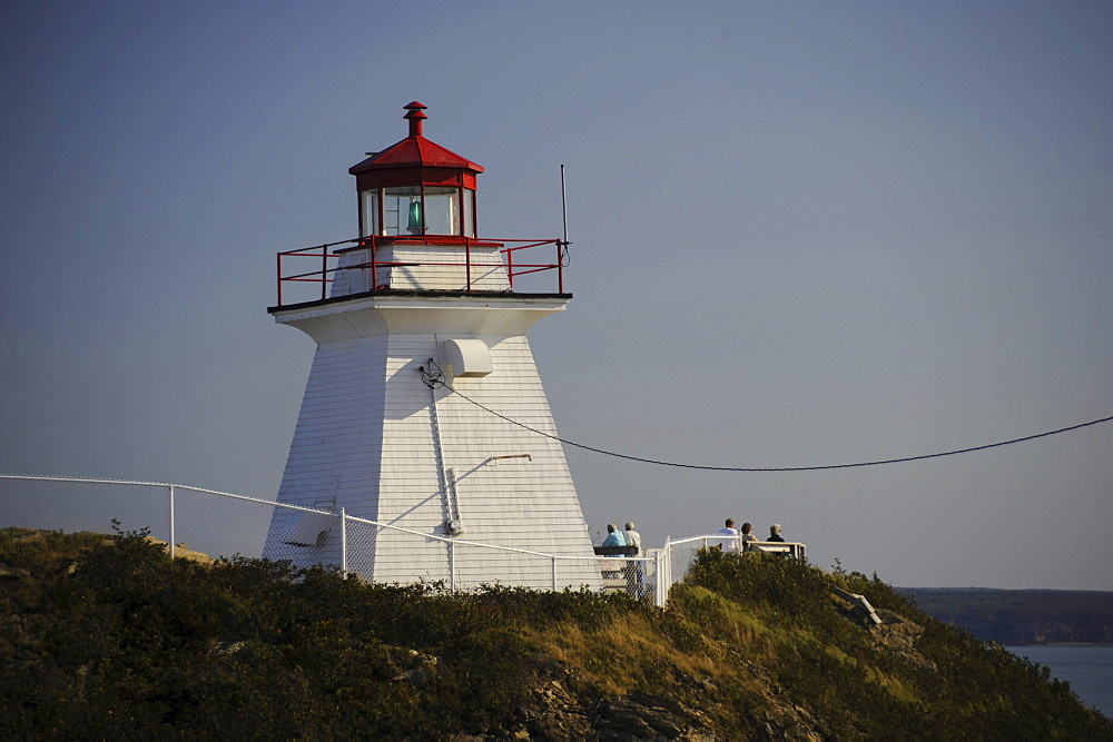 Lighthouse Cape Enrage, New Brunswick, Canada
