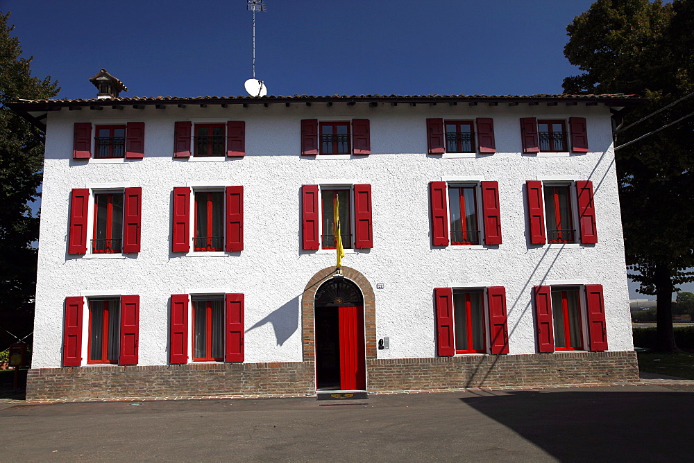 Enzo Ferrari's White House, Maranello, Emilia-Romagna, Italy, Europe