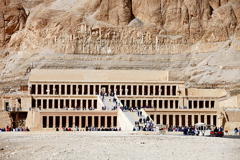 Hatshepsut Temple, Deir el-Bahri, UNESCO World Heritage Site, Egypt, North Africa, Africa