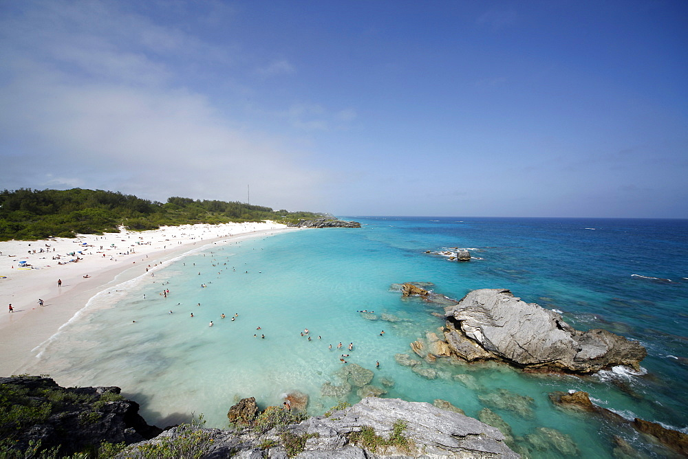 Horseshoe Bay, Bermuda Islands, North Atlantic Ocean, Atlantic