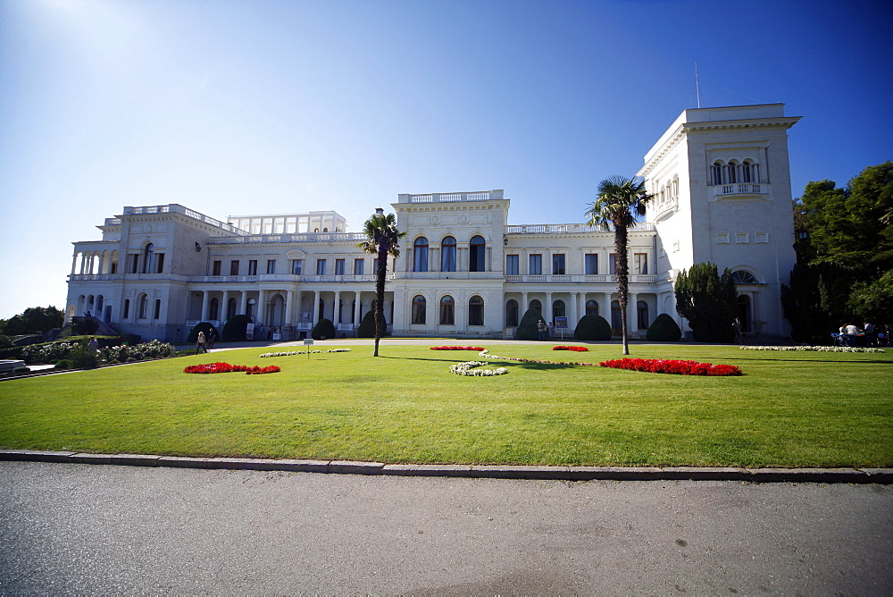 Livadia Palace facade, Yalta, Crimea, Ukraine, Europe