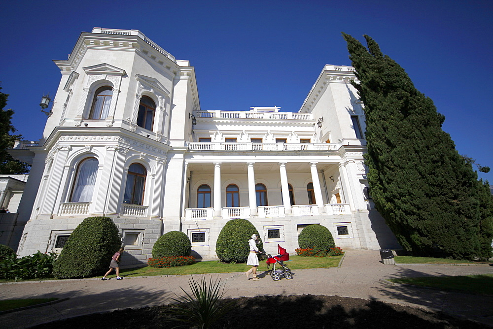 Livadia Palace side view, Yalta, Crimea, Ukraine, Europe