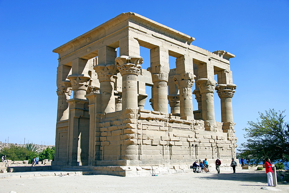 Kiosk of Trajan at the Temple of Isis, Philae, UNESCO World Heritage Site, Nubia, Egypt, North Africa, Africa