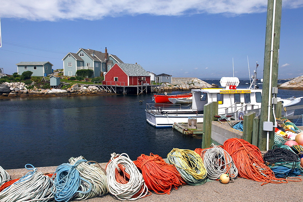 Peggy's Cove, Halifax, Nova Scotia, Canada, North America