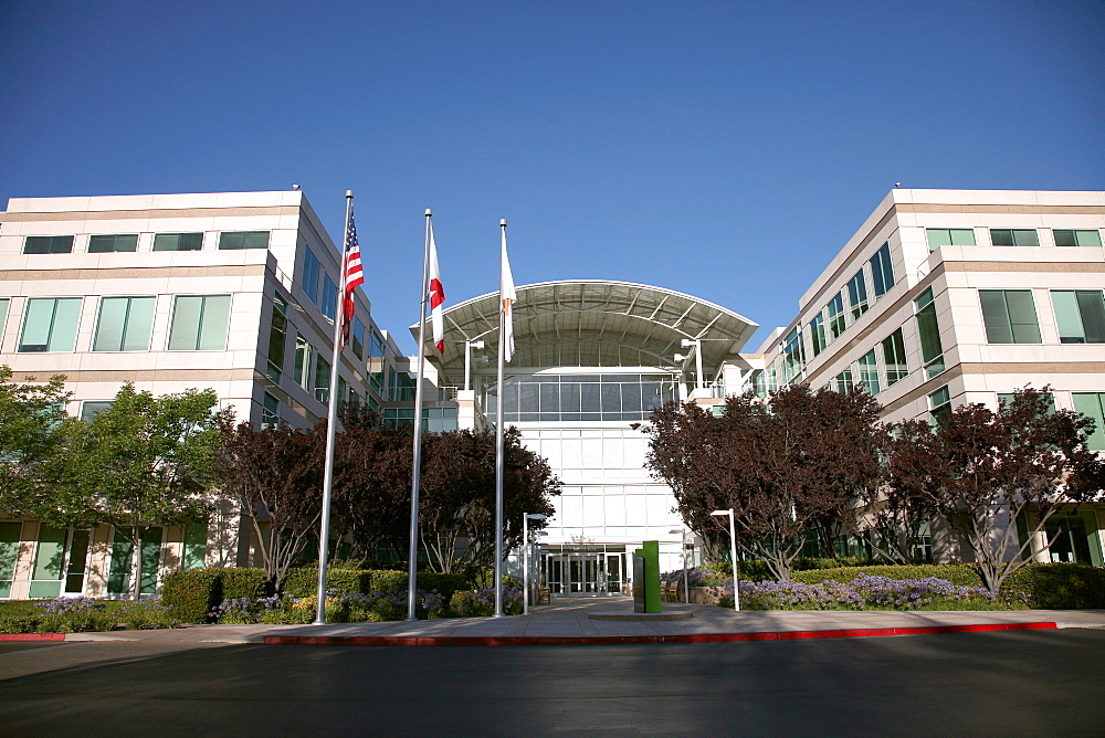 Apple Campus and Offices, Cupertino, California, United States of America, North America