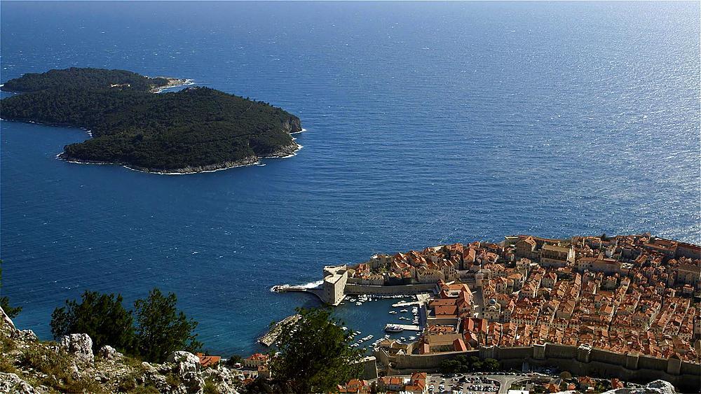 Lokrum Island & Dubrovnik, Old Town, Dubrovnik, Croatia