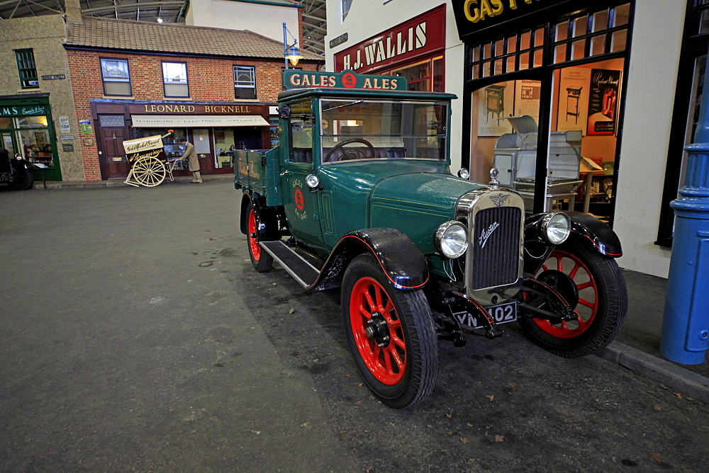 Old Austin pickup truck, Basingstoke, Hampshire, England, United Kingdom, Europe