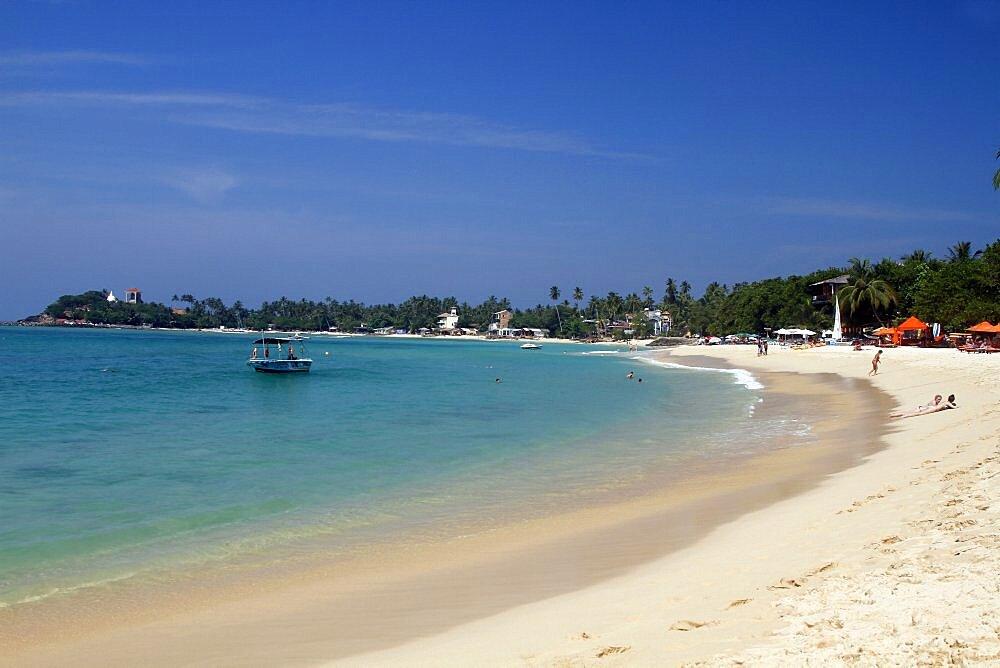 Unawatuna Beach, Unawatuna, Sri Lanka, Asia