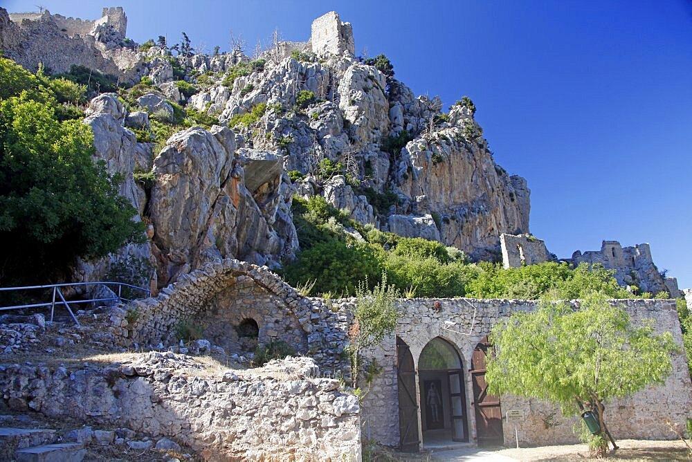 Kantara Castle, Kyrenia, Northern Cyprus, Europe