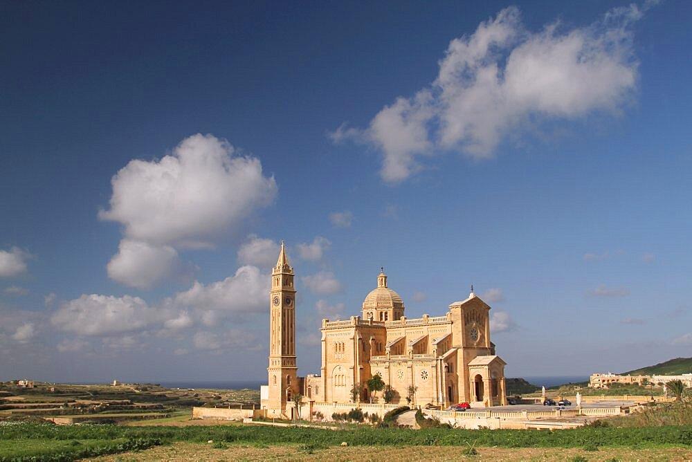 Basilica of The Blessed Virgin of Ta' Pinu, Gozo, Malta, Europe