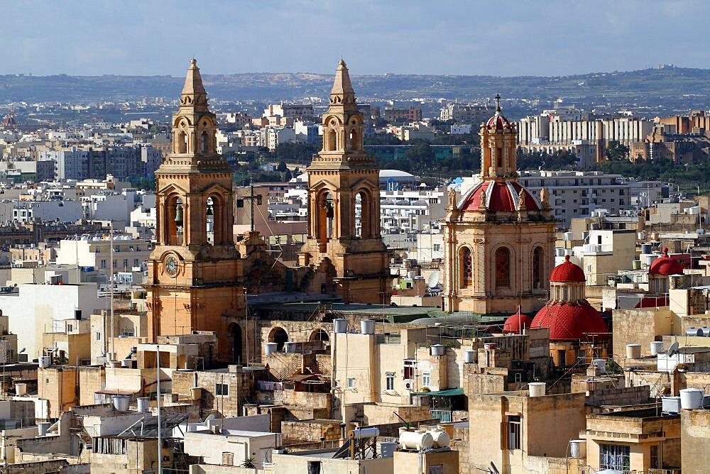 Parish Church of Sacro Cuor, Island of Malta, Europe