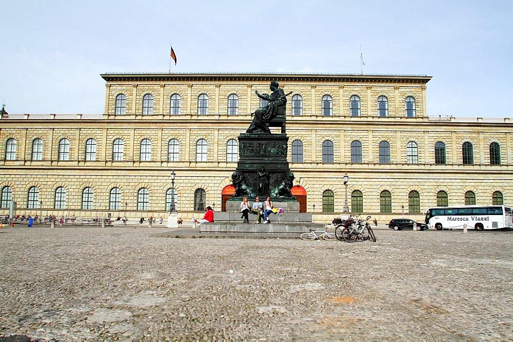 Konigsbau Residenz, Munich, Bavaria, Germany, Europe