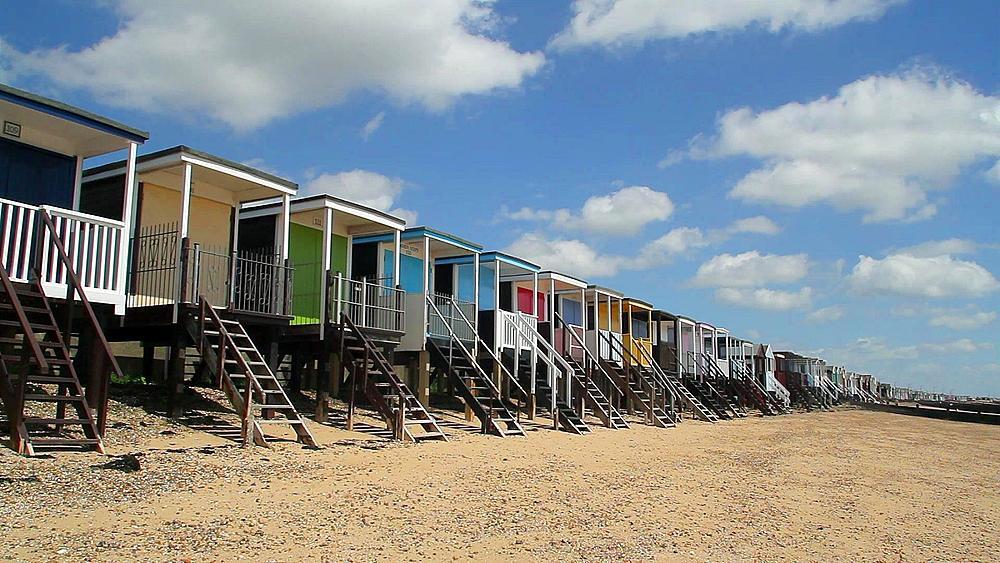 Beach Chalets, Thorpe Bay, Southend-On-Sea