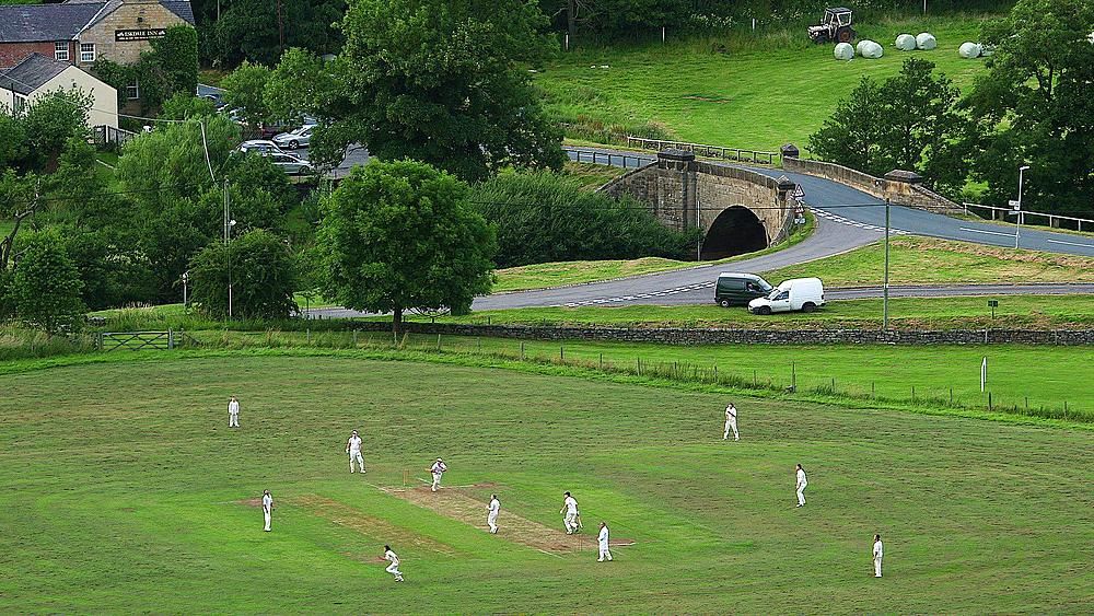 Evening Cricket Match, Castleton, England