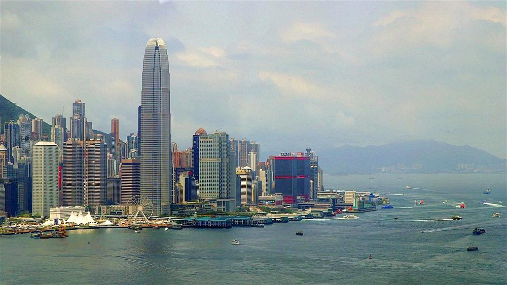 Two International Finance Tower & Other Skyscrapers