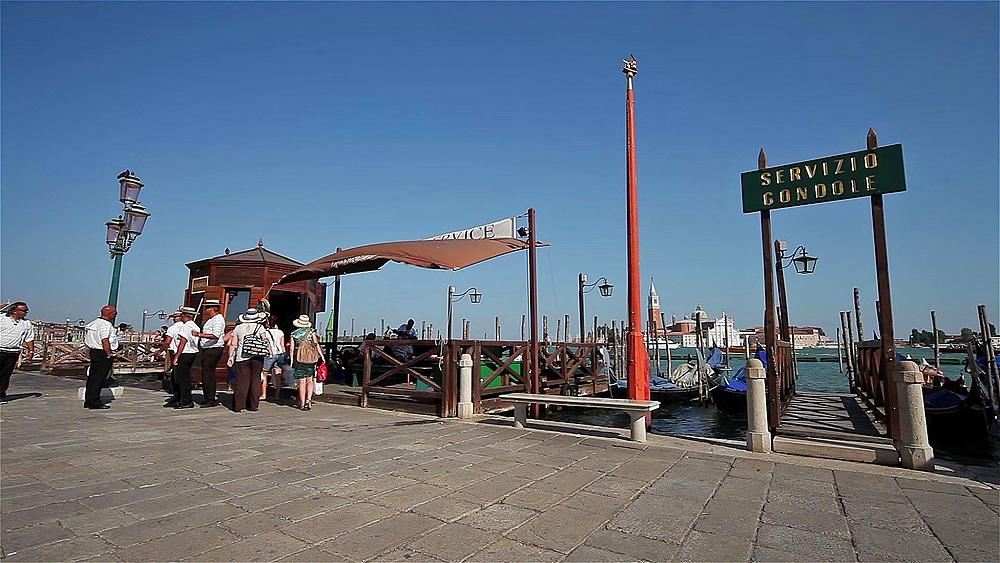 Gondola Service Pickup Point, Venice, Italy