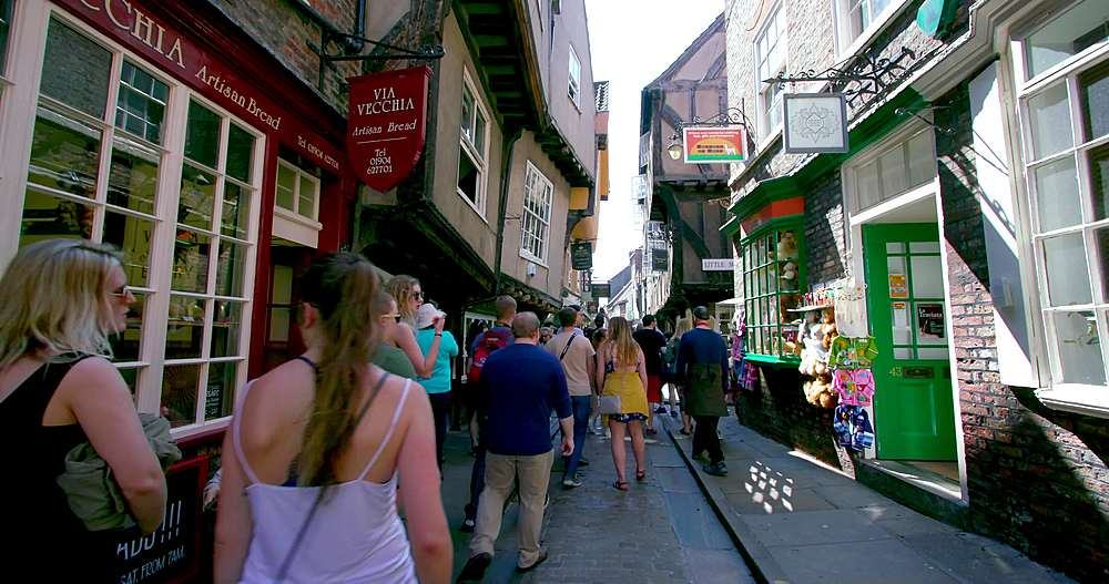 The shambles, york city centre, York, North Yorkshire, United Kingdom - 1130-6432