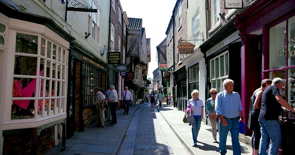 The shambles, york city centre, York, North Yorkshire, United Kingdom - 1130-6433
