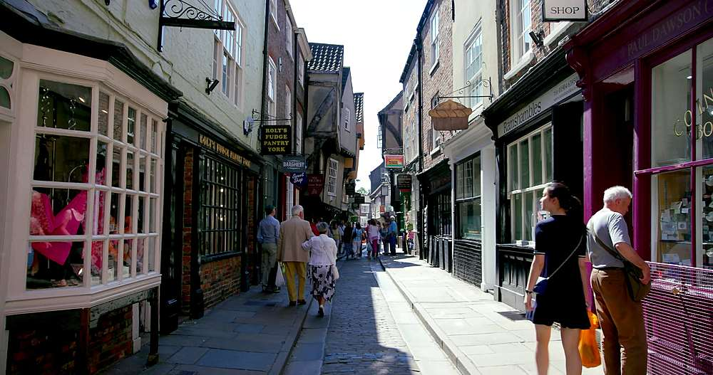 The shambles, york city centre, York, North Yorkshire, United Kingdom - 1130-6434