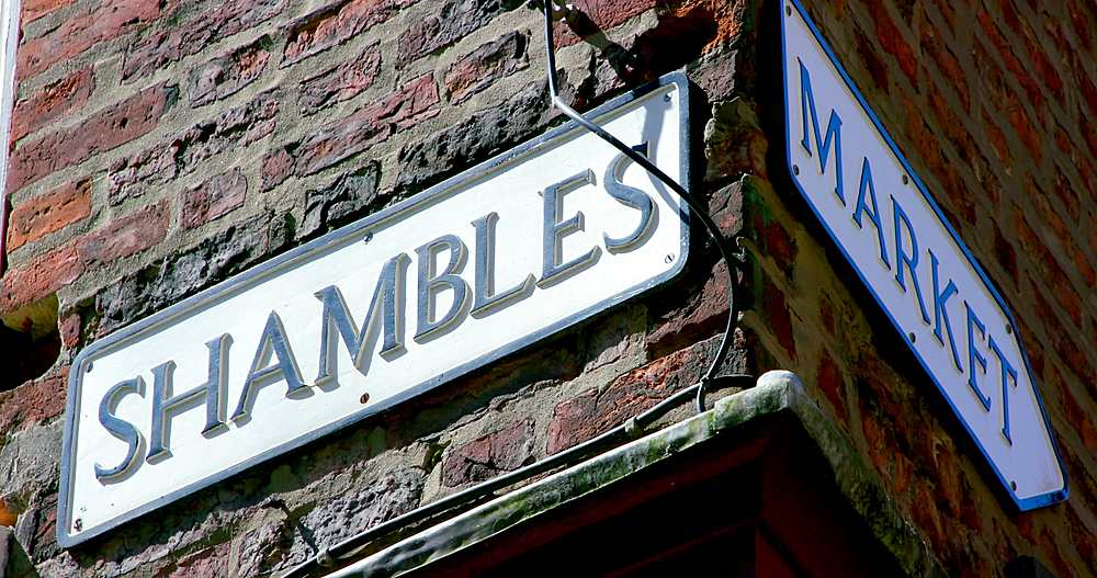 The shambles, york city centre, York, North Yorkshire, United Kingdom - 1130-6435