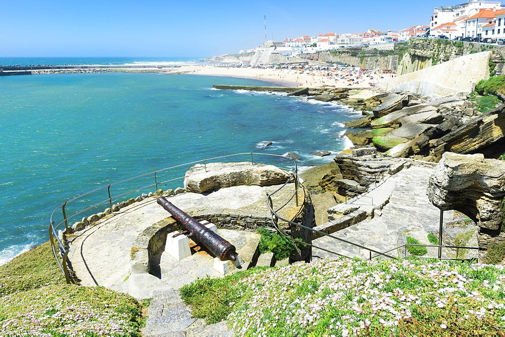 Praia dos Pescadores, Fisherman beach, Ericeira, Lisbon Coast, Portugal