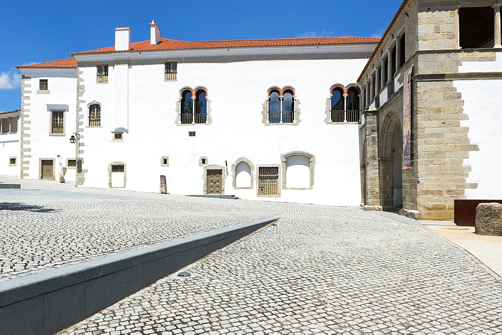 St Miguel palace, UNESCO World Heritage Site, Evora, Alentejo, Portugal - 1131-1115