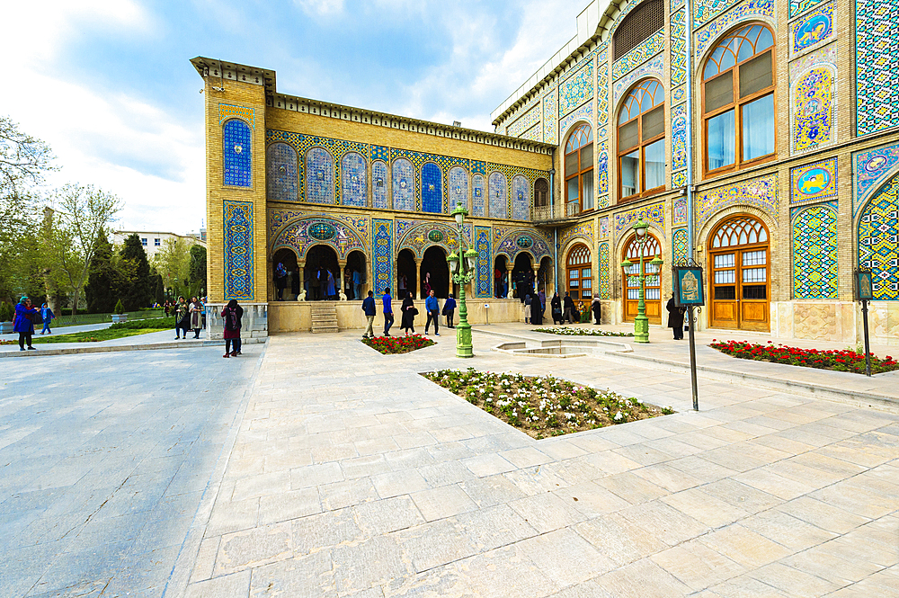 Golestan Palace, UNESCO World Heritage Site, Karim Khani Nook House, Tehran, Islamic Republic of Iran, Middle East - 1131-1260