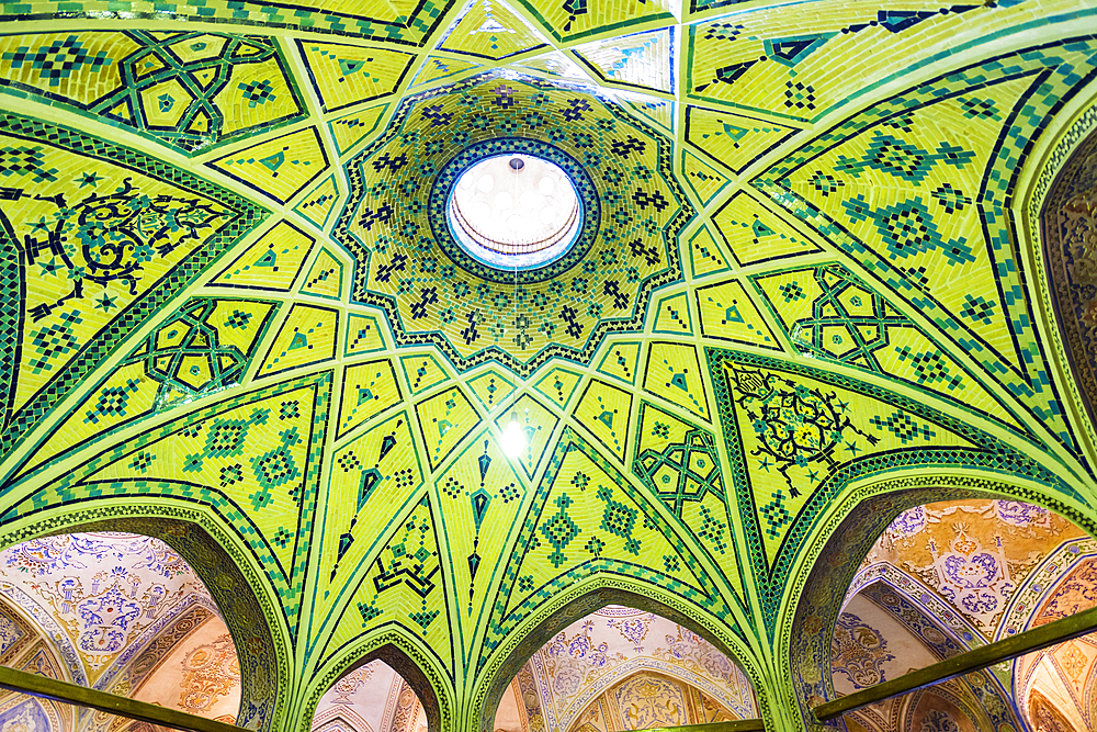 Sultan Amir Ahmad Bathhouse, Kashan, Isfahan Province, Islamic Republic of Iran, Middle East - 1131-1271