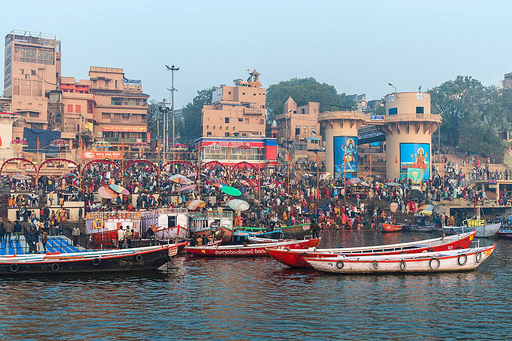 Dashashwamedh Ghat, Varanasi, Uttar Pradesh, India