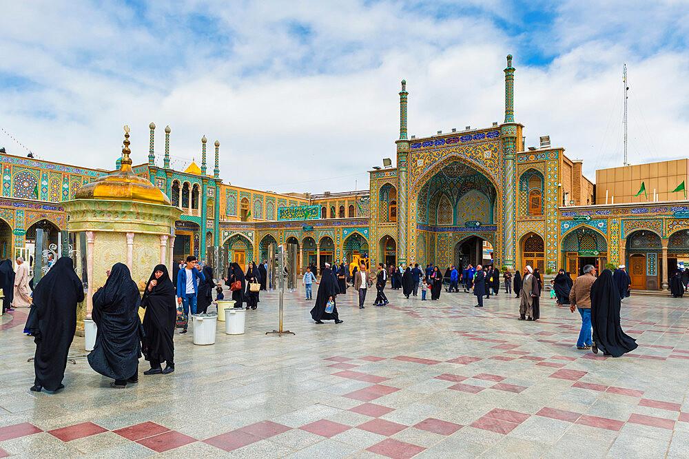 Hazrat-e Masumeh, Shrine of Fatima al-masumeh , Qom, Iran - 1131-1337