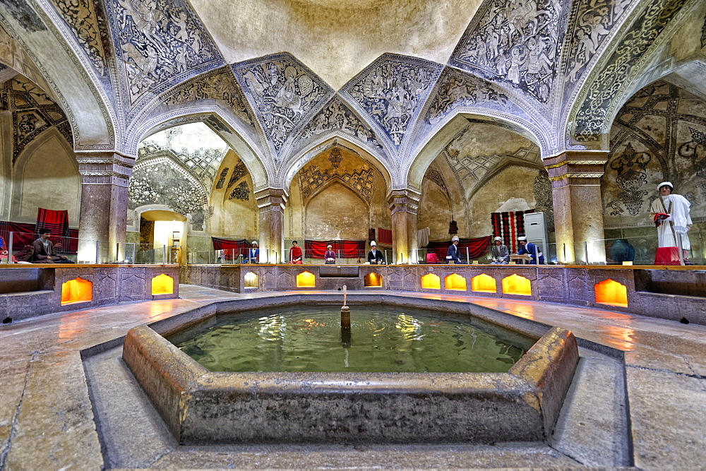 Historic Hamman-e Vakil Bath, Shiraz, Fars Province, Iran, Middle East