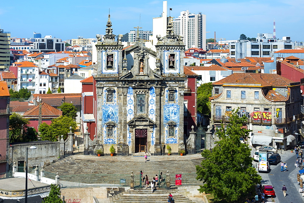 Saint Ildefonso Church, UNESCO World Heritage Site, Porto, Portugal, Europe