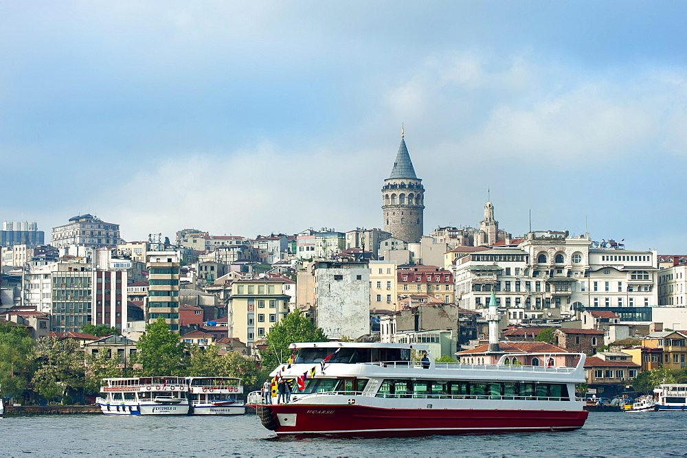 Galata Tower, Istanbul, Turkey, Europe