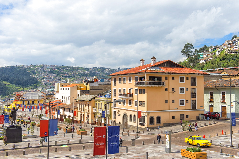 Avenue 24 de Mayo, Quito, Pichincha Province, Ecuador, South America