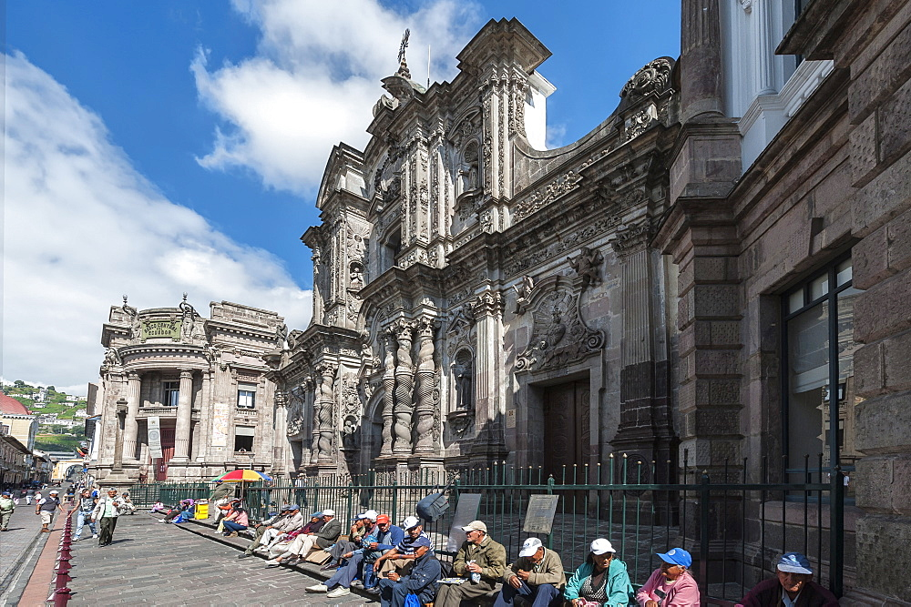 Compania de Jesus Church, Quito, UNESCO World Heritage Site, Pichincha Province, Ecuador, South America