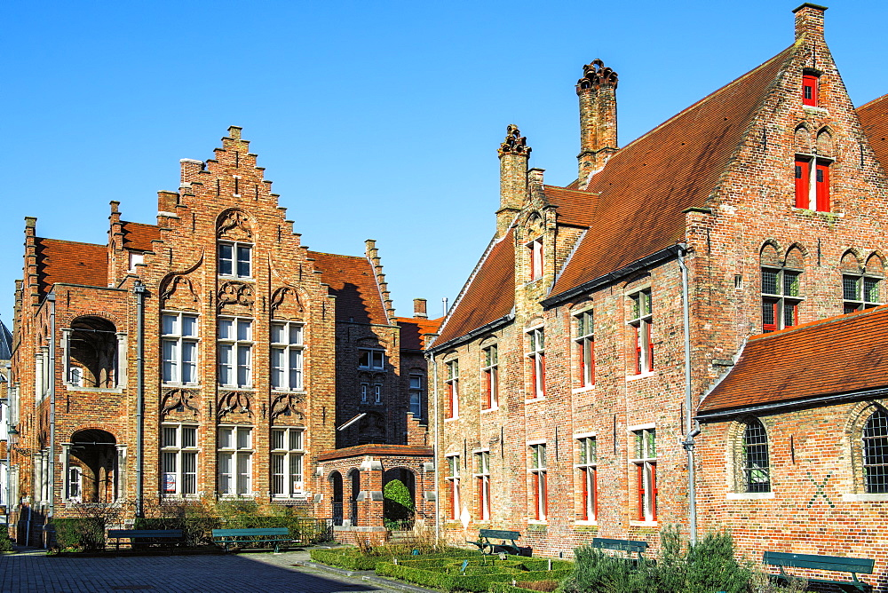 Old Saint John Hospital, Historic center of Bruges, UNESCO World Heritage Site, Belgium, Europe