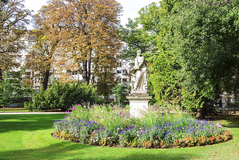 Statue in the Luxembourg Gardens, Paris, France, Europe