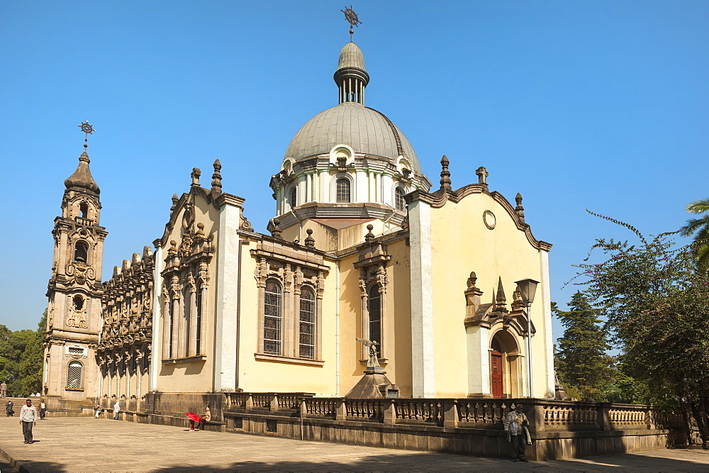 Holy Trinity Cathedral, (Kiddist Selassie), Addis Ababa, Ethiopia, Africa