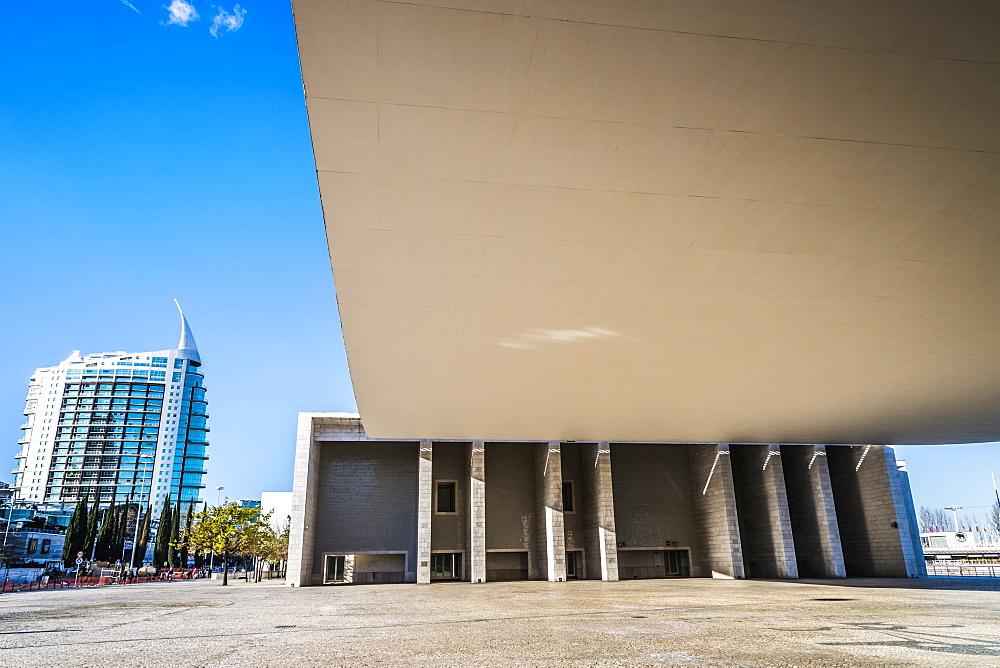 Portugal Pavilion, Site of the Universal exhibition 1988, Parque das Nacoes, Lisbon, Portugal, Europe